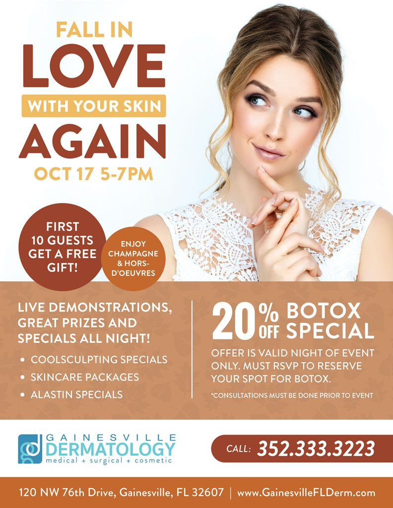 Botox & Plastic Surgery Specials in Gainesville